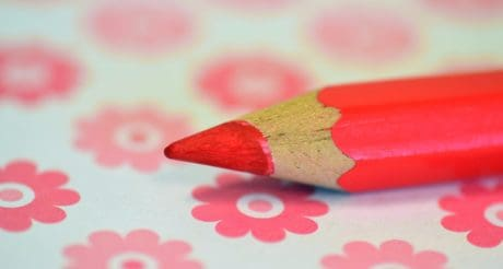 pencil, education, red, macro, wood, creativity, color