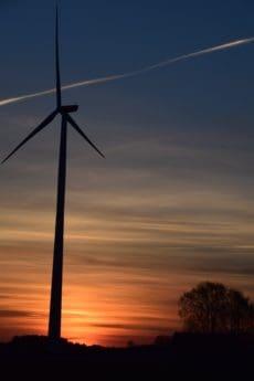 tehnologija, vjetar, nebo, energije, turbina, vjetrenjača, struja