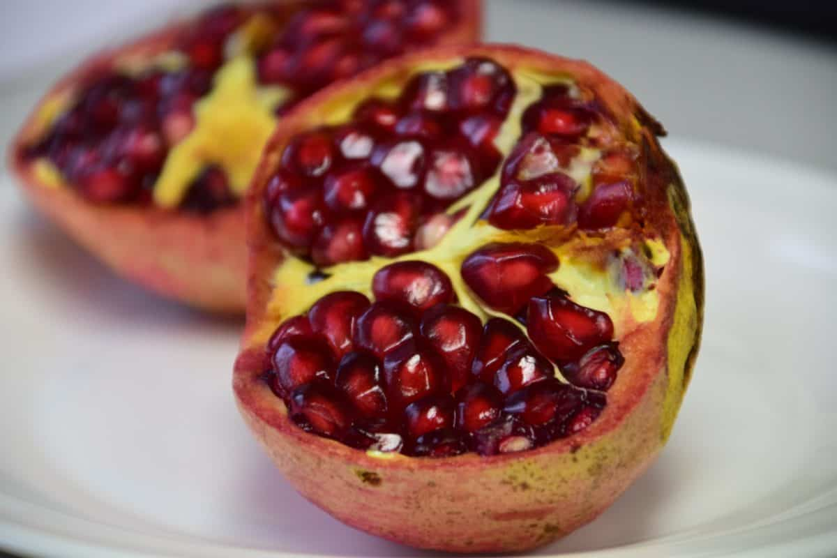 sweet, pomegranate, food, fruit, dessert, berry, diet