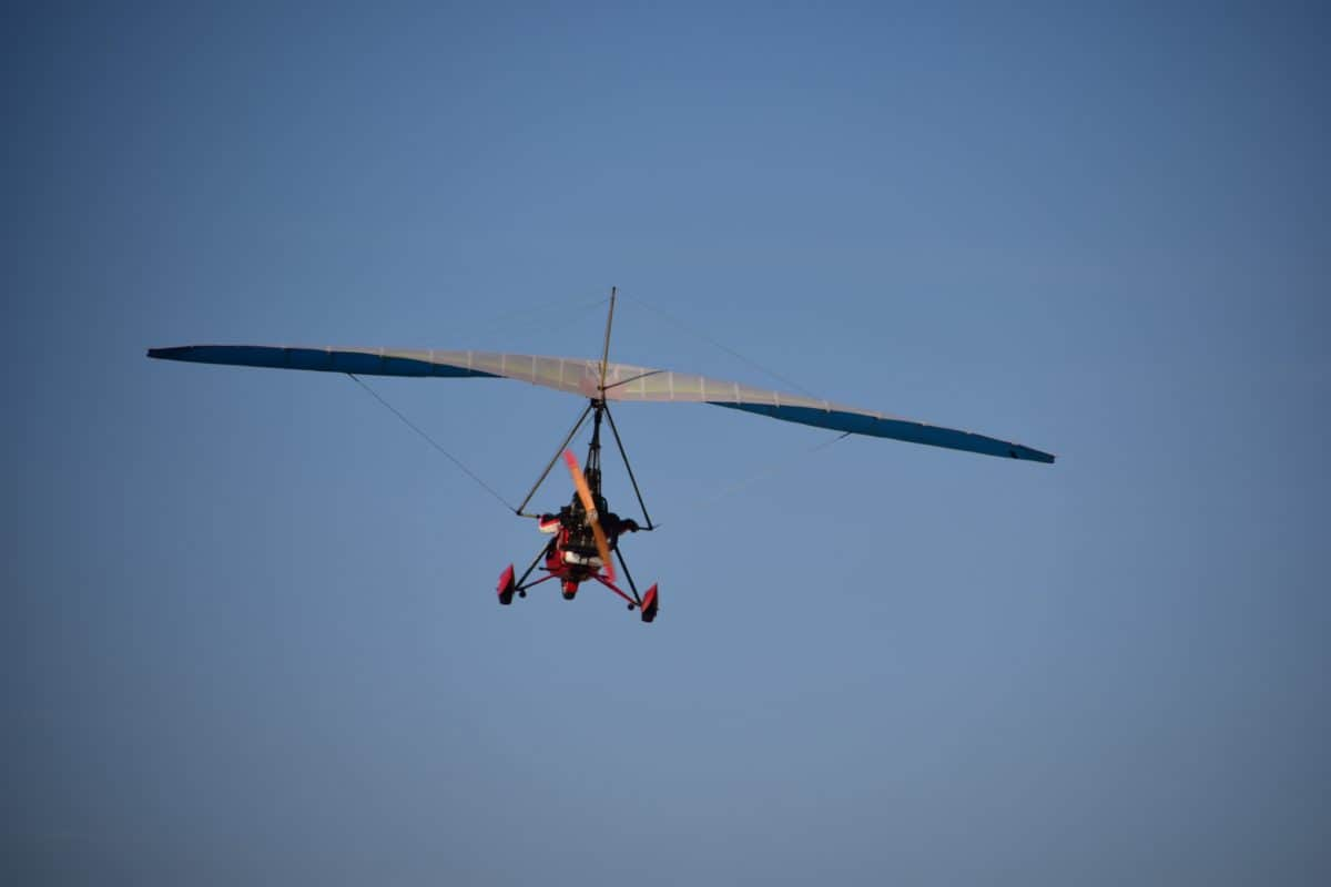 hang glider, sky, aviation, flying, sky, air, wing, vehicle, transport
