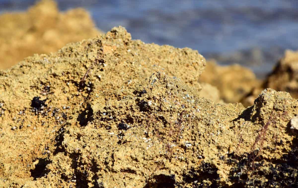 sabbia, terreno, texture, Costa, pietra, luce del giorno