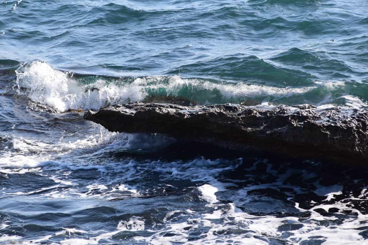 Natur, Wasser, Welle, Meer, Ozean, Küste, Strand