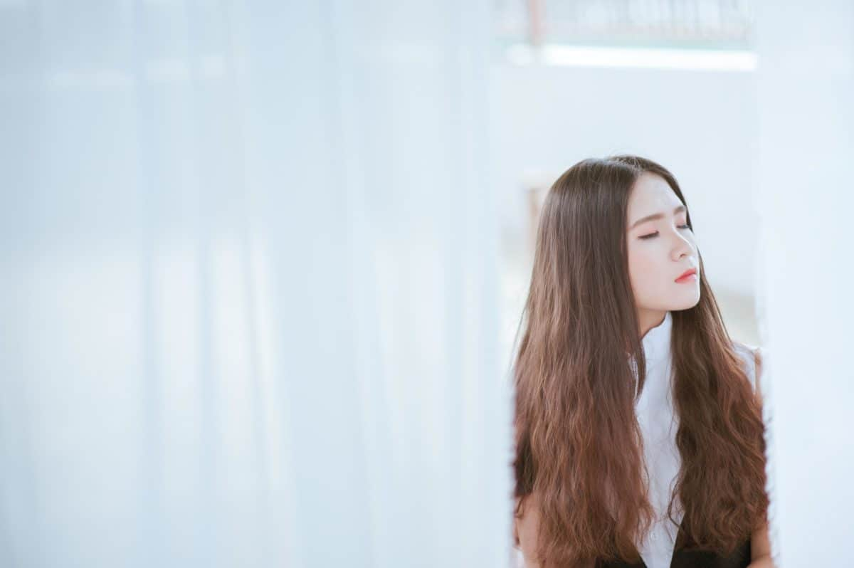woman, wig, portrait, hairpiece, face, attractive, pretty