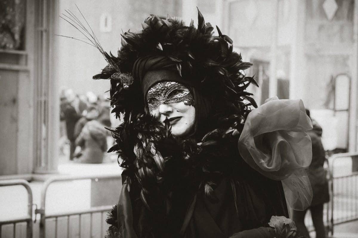 people, portrait, mask, masquerade, attire, mask, costume