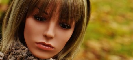 fashion, doll, plastic, object, face, toy, makeup
