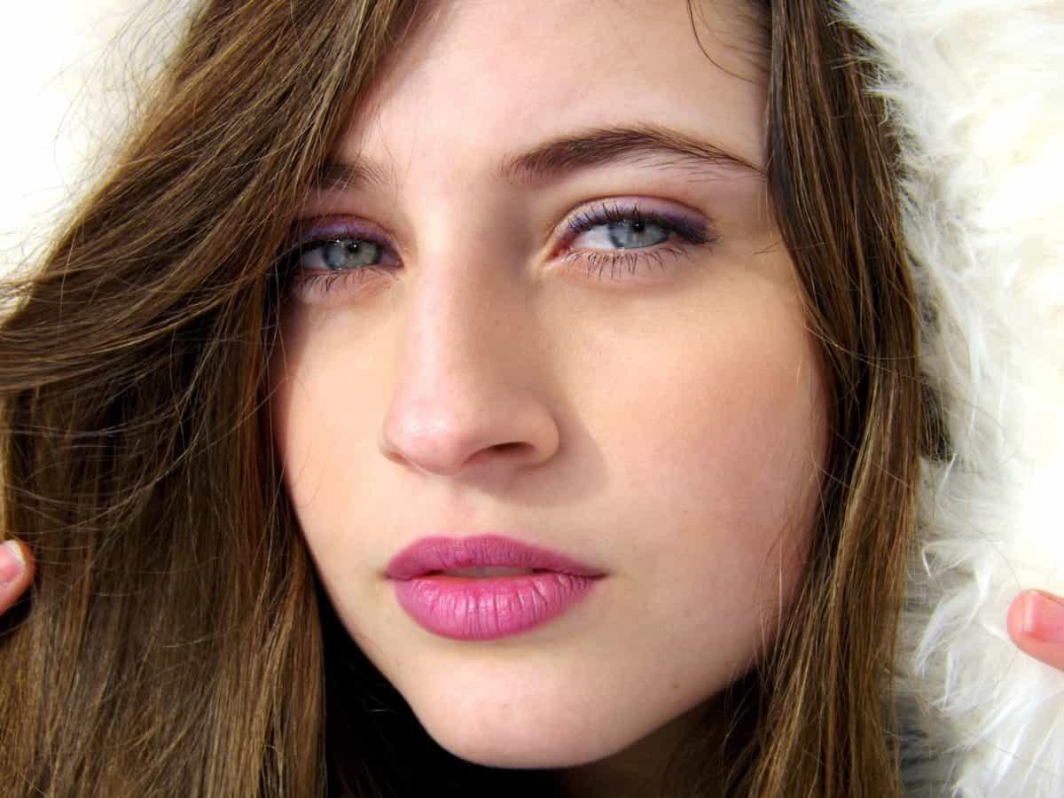 l'oeil, jolie, fille, portrait, mode, femme, visage, attrayant