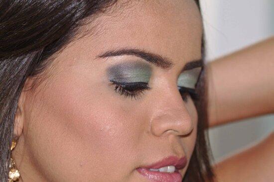 woman, portrait, fashion, makeup, lipstick, face, teeth, smile, cosmetic