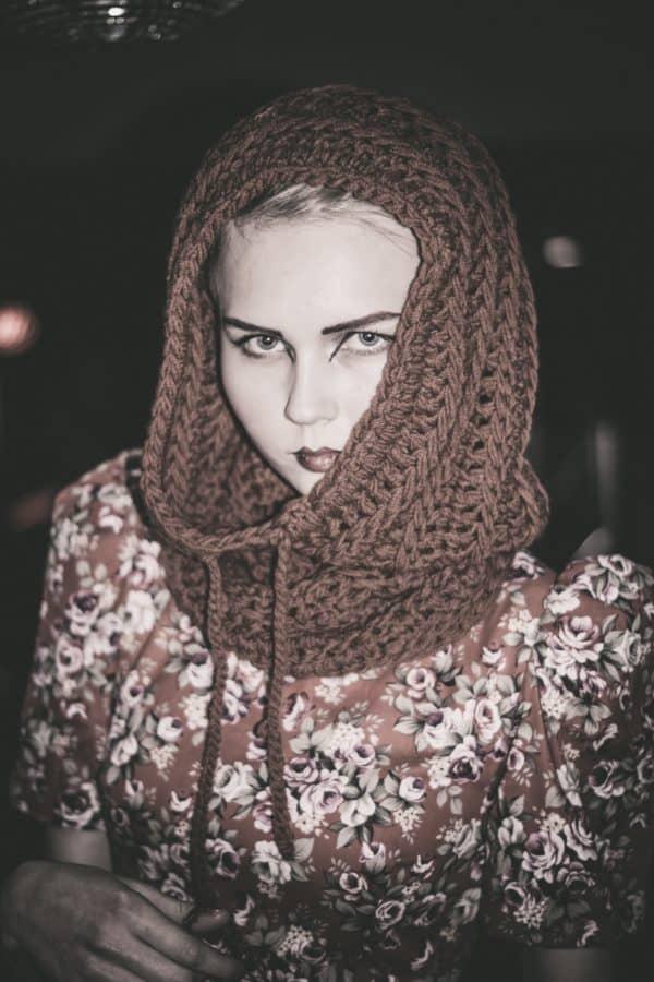 fashion, photo model, people, winter, scarf, portrait, face, attractive