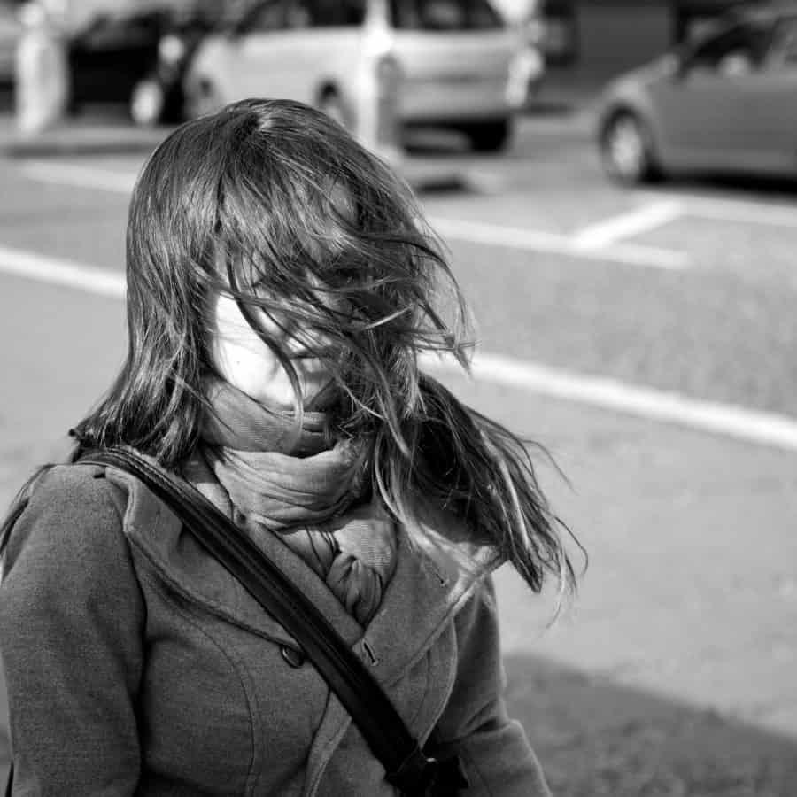 gens de la rue, monochrome, joli, personne portrait, plein air