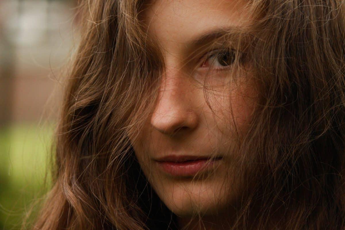 Girl, portrait, visage, personnes, coiffure, joli, personne, attrayant