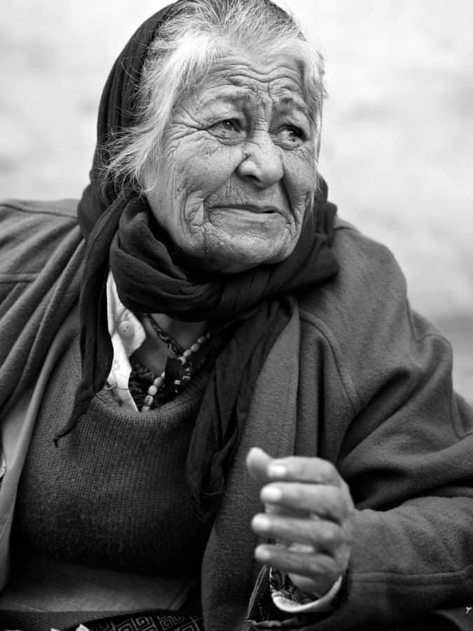 monochrome, man, people, elder, portrait, grandmother
