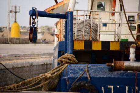 watercraft, rope, industry, crane, machine, ship