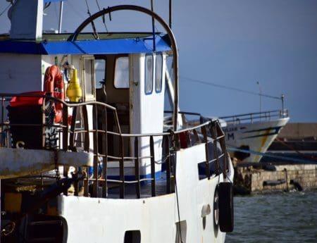 industrie, bateau, mer, eau, transport, bateau, lumière du jour