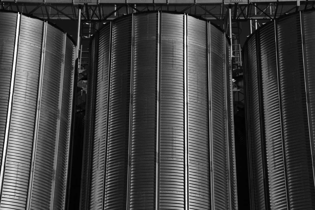 steel, industry, metal, monochrome, darkness, reservoir, factory, technology