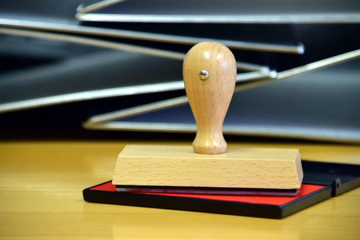 Signet, drevo, office, atrament, objekt, interiér, office