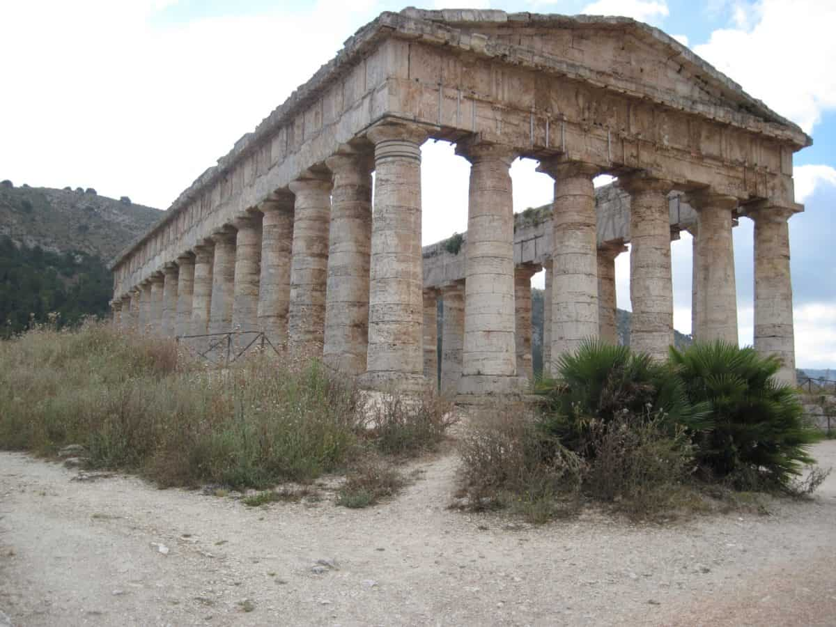 Grecia, arquitectura, templo, antigua, antigua, piedra