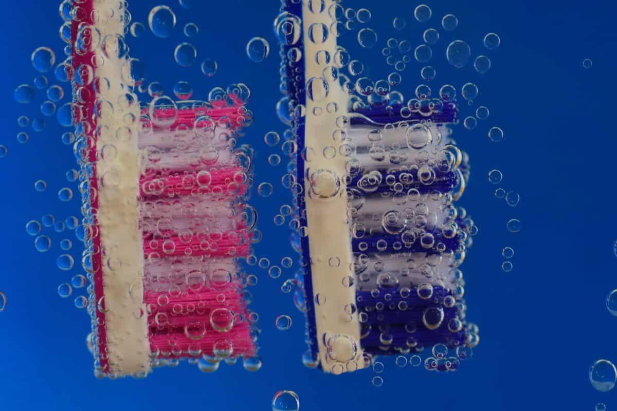 Faser, Pinsel, design, unter Wasser, Hygiene, Flüssigkeit, Makro, Blase, Wasser