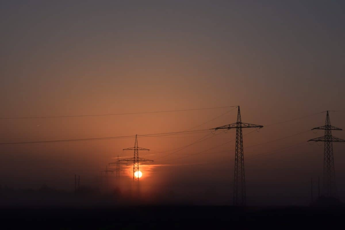cable, electricity, wire, night, voltage, energy, sky, silhouette, electric