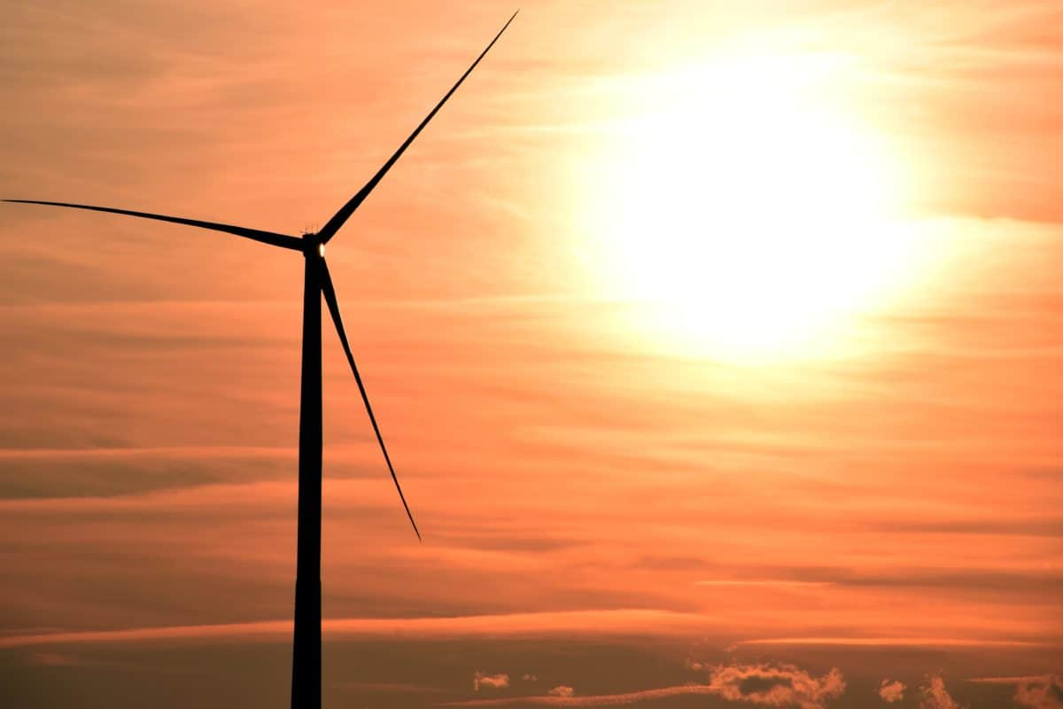 wind, turbine, sky, electricity, Sun, energy, sunset, outdoor