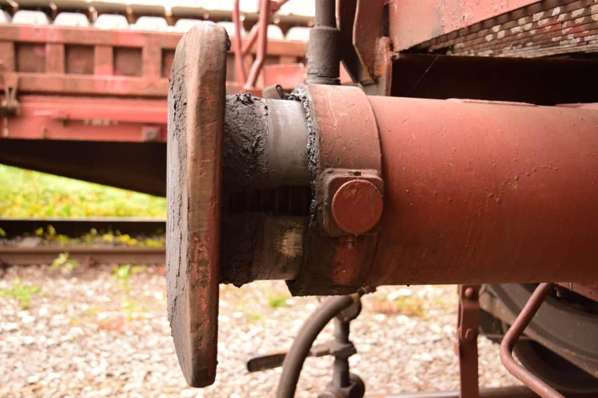 trasporto, carico, ferro, industria, ferrovia, metallo, ammortizzatore