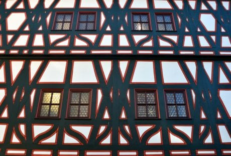 finestra, struttura, architettura, quadro, tetto