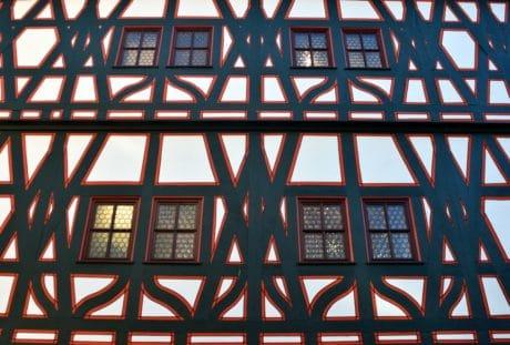 ventana, arquitectura, marco, techo, estructura