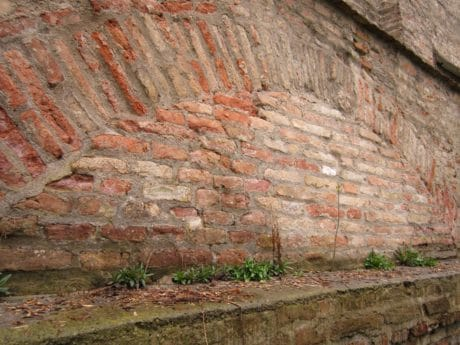 old, wall, architecture, texture, brick, surface, pattern