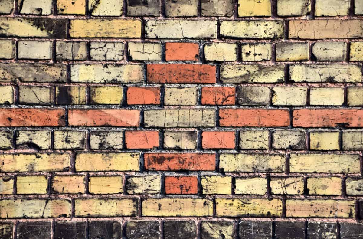 calcestruzzo, mattoni, pattern, texture, vecchio, pietra, parete, cemento