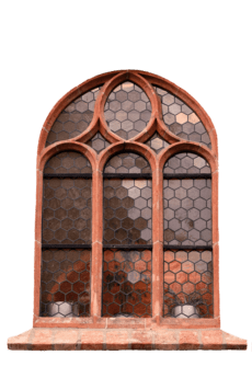 window, old, framework, design, glass, object