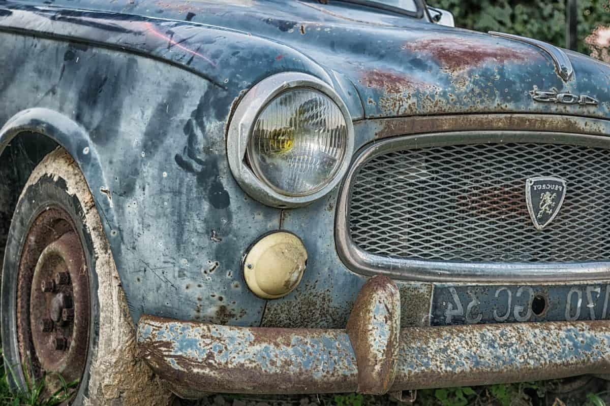 classic, vehicle, retro, antique, old, car, automobile