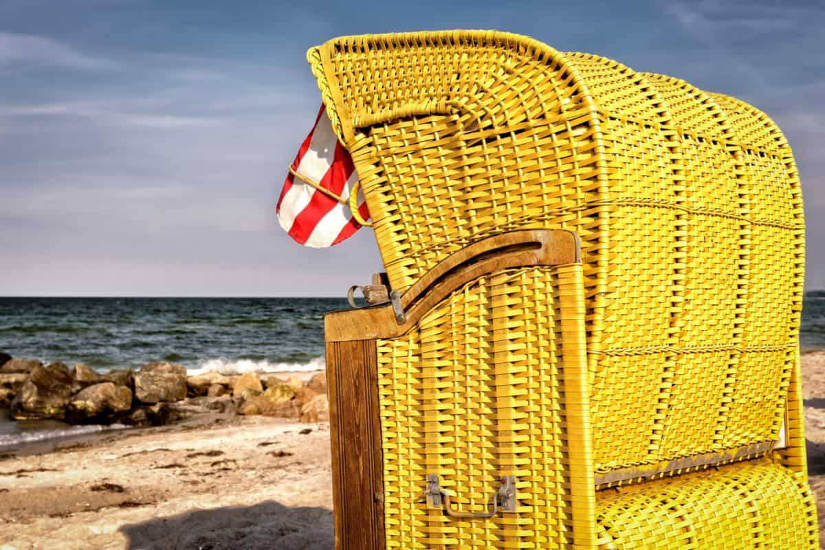 mer, été, plage, ciel bleu, eau, vacances, plein air