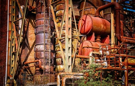 industry, factory, pollution, petroleum, steel, iron, outdoor