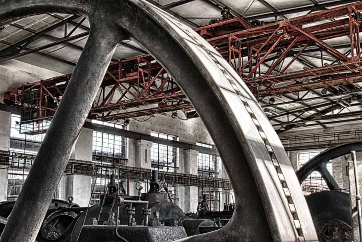 industry, factory, workplace, steel, structure, architecture, indoor, iron