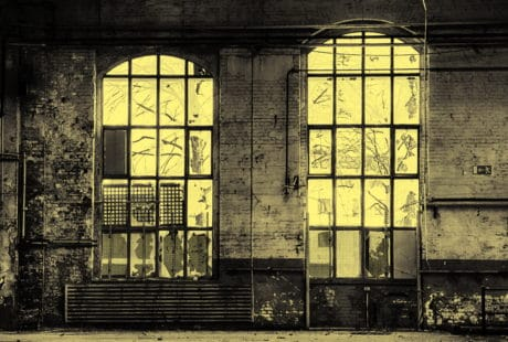 warehouse, industry, hall, window, old, architecture