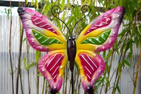 colorful, object, butterfly, decoration, garden