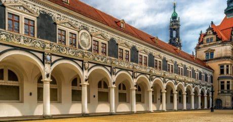 slot, city, arkitektur, kloster, residence, hus, palace