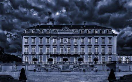 архитектура, дворец, резиденция, къща, град, структура, Открит