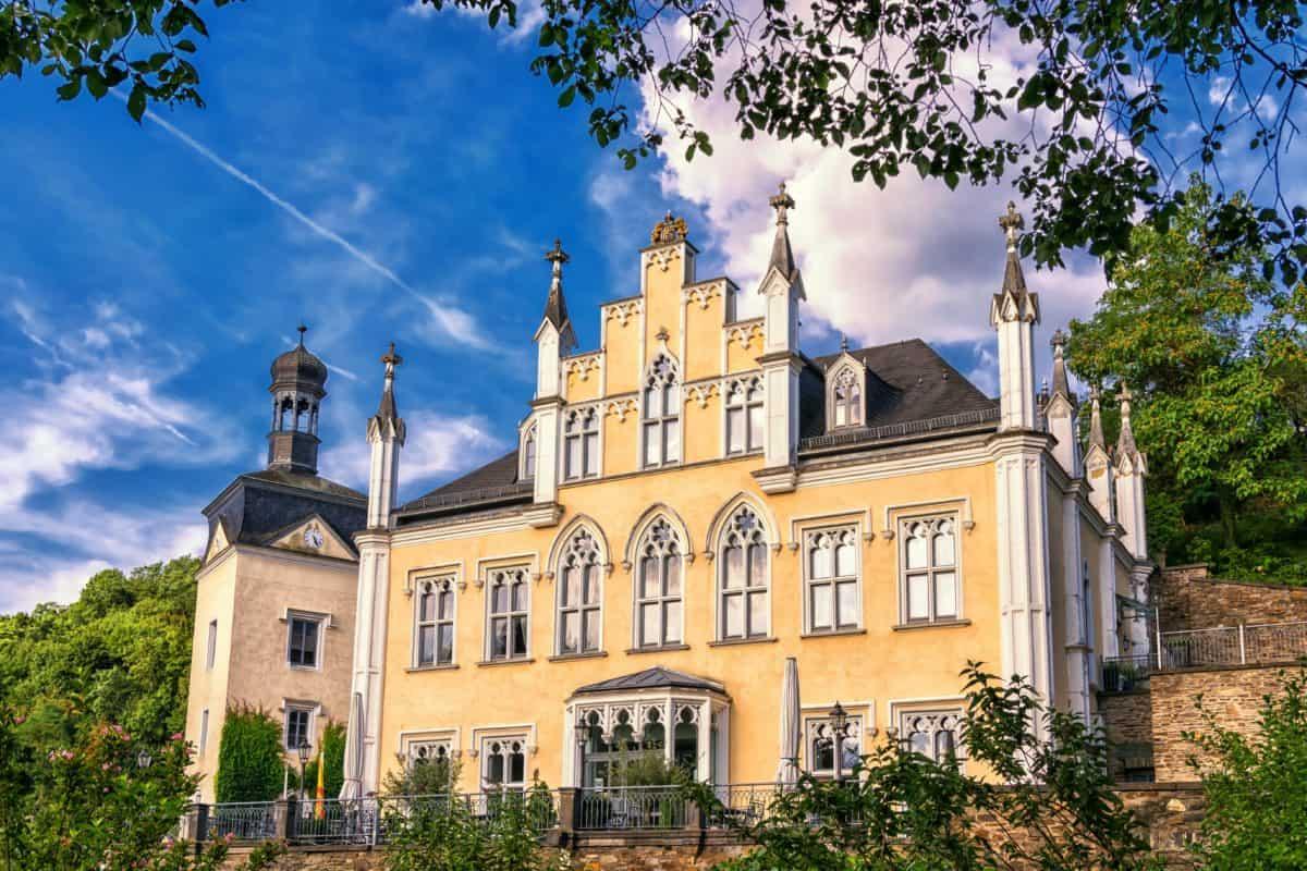 casa, arquitectura, antiguo, Palacio, ciudad, árbol, al aire libre