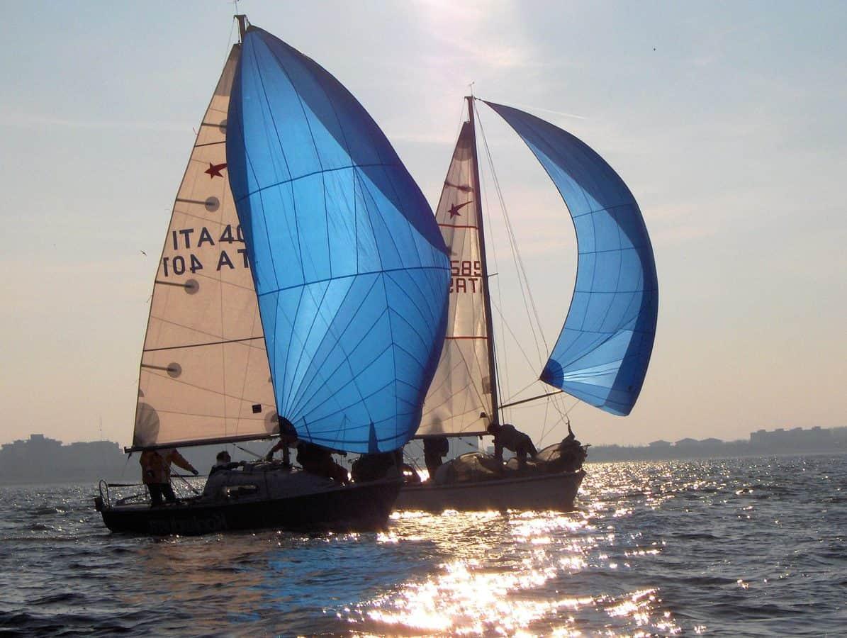 bateau, mer, voilier, motomarine, eau, voile, océan, yacht
