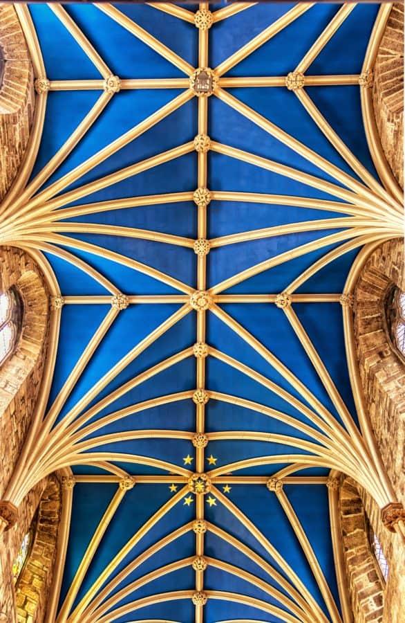 soffitto, Chiesa, interni, architettura, arte, tetto, Cattedrale