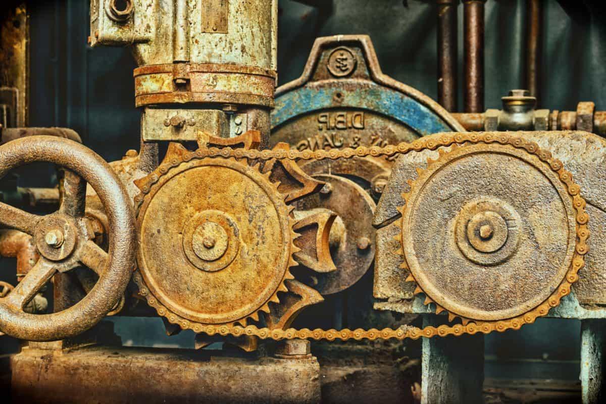 machine, rouille, fer, vieux, mécanisme, antique, roue, acier, ancient
