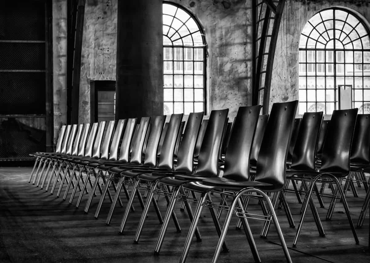 silla, muebles, arquitectura, monocromo