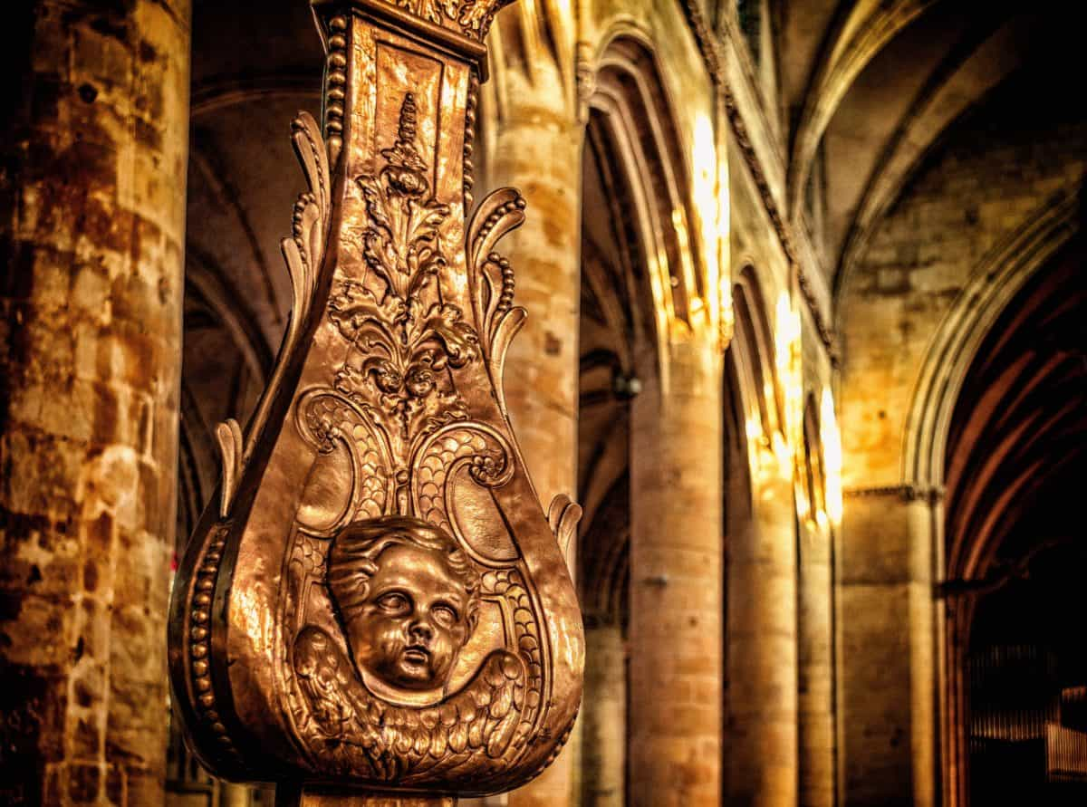 antique, cathédrale, religion, église, sculpture, architecture