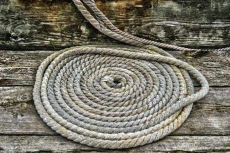 wooden, old, texture, wood, structure, rope