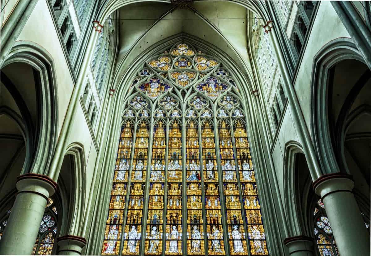 religione, Cattedrale, Chiesa cattolica, arco interni, architettura,