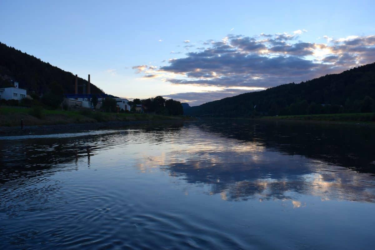 agua, paisaje, lago, lago, tierra, montaña