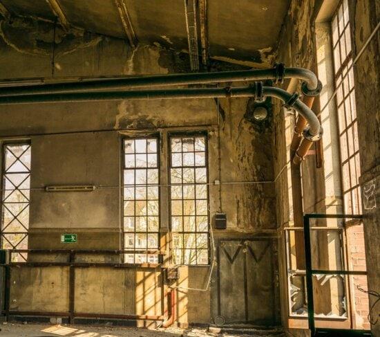Indoor, Fenster, Architektur, alte, Tür, Wand