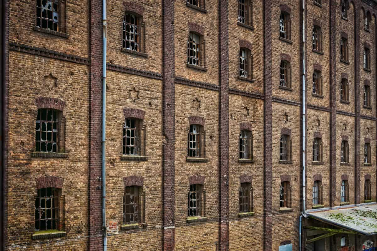 architecture, building, old, brick, windows, brown