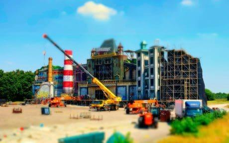 gru, costruzione, cielo, architettura, camion, luce diurna, edificio