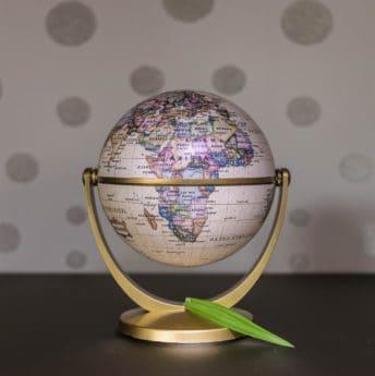 Geografie, mapy, koule, země, zeměkoule, objekt